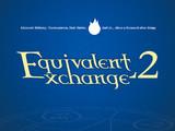 EE2(Equivalent Exchange 2)のロゴも作ってみた
