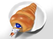 4.お腹が空いたので「カルピスコロネ」を描こうとしたらなんか違った。