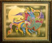 鳳凰・日本画・刺青