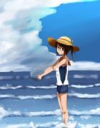 しおいちゃんと過ごす夏休み