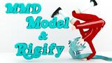 MMD Model × Rigify 002