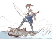 空母サーフィン