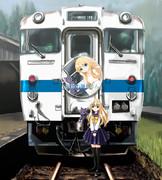 告知用臨時列車