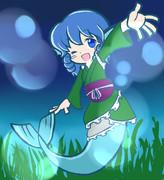 わかさぎ姫(ぷよ風)