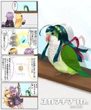 ゆかマキ漫画(インコ