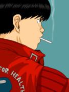 【GIF】煙草を吸う金田【再UP】