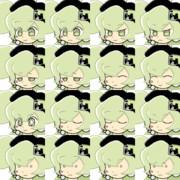 RPGツクール用マクネナナ(Mac音ナナ)顔グラフィックVer.2
