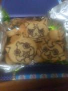 妖怪ウォッチのキャラクッキー