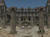 帝国正門付近