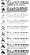 源真ゴシック/源柔ゴシックが公開