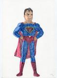 フライシャーのスーパーマンを描いてみた