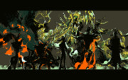 黒龍との戦い