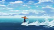 ・・・・すごい水上スキーだ。