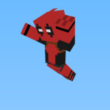 [minecraft]デッドプールスキン[MARVL]