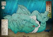 浮世絵風 クトゥルー