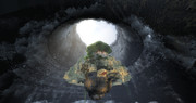 龍の巣の中に、ラピュタ城降臨!! 【Minecraft】