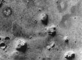 火星♂の人面岩