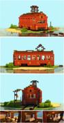 【Minecraft】こんな家に住んでみたい2(浪漫電車ハウス)