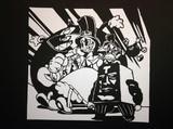 【スカルガールズ】ピーコック【切り絵】