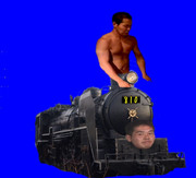 野  獣  機  関  車  .BB