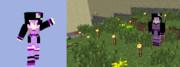 【minecraft】結月ゆかりスキン プレビュー