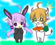 【亜種注意】兎と牛