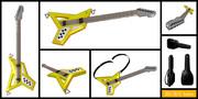 【MMDモデル配布】光学式ギター&ギターケース