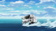 【艦これクソコラ】五十鈴のトラック【水上スキー】