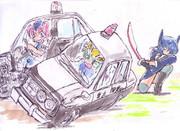東方警察410ブルーバード
