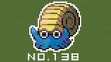 【マイクラ】ポケモン図鑑NO.138【ドット絵】