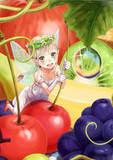 フルーツ&妖精