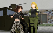 MMD-SHOT SHOW 2014 : キャンプ デモンストレーション