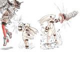 北方棲姫 ポーズ練習