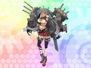 【雑コラ】清霜を戦艦にしてあげた