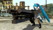 【MMD】大和式アクセサリとMG-M7【フリーダムウォーズ】