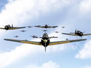 航空隊、集結!
