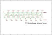 8Bit TFF Memory Unit マイクラ用