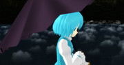 【MMD】おなかがすいて眠れない子傘ちゃん