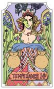 ラバーソールで「節制」のカード
