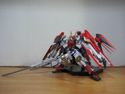ガンダムアストレイ闘我フレーム鎧弎(アームドモード・ポーズ1)