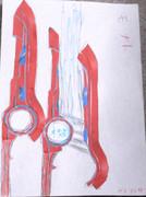 モナド(鉛筆&マーカーペン書き)