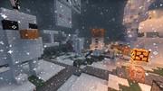 マイクラで「雪だるまつくろう」白いエンダーマンとか
