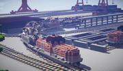 【Minecraft】車両鉄道輸送