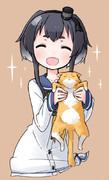 時津風と猫