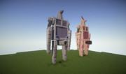【Minecraft】帝国主力歩行兵器