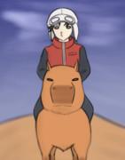 遠征部隊に選ばれた陽太郎と雷神丸