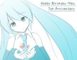 ミクさん誕生日おめでとう! -7th Anniversary-