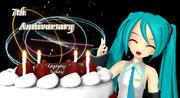 【MMD】ミクさん誕生日おめでとうございます!