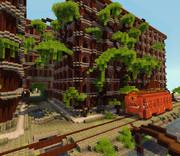 【Minecraft】浪漫電車ハウス