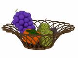 【3Dモデル】フルーツ盛り合わせ【配布あり】